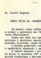 Bogucki Teofil Drogi życia ks. Jerzego Popiełuszki k000536 Muzeum Wolnego Słowa m-ws.pl m-ws.pl/muzeum/ Slowa Jerzy Popiełuszko Popieluszko Solidarność Solidarnosc