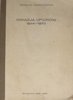Ciesiolkiewicz Inwazja upiorów 1944-1970antysemita antysemityzm narodowy komunizm