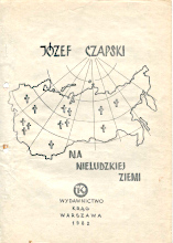 Czapski Na nieludzkiej ziemi Krąg Krag 1982 k001229 Muzeum Wolnego Słowa m-ws.pl/muzeum/