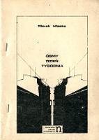 Hłasko Hlasko Marek Osmy dzien Ósmy dzień tygodnia Warszawa Niezależna Oficyna Wydawnicza 1979 1980 termofaks