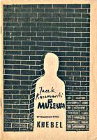 Kaczmarski Jacek Muzeum Warszawa Wydawnictwo Knebel 1985 k008057 Muzeum Wolnego Słowa m-ws.pl/muzeum/