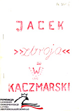 Kaczmarski Jacek Zbroja Warszawa Wytrwałość 1982 FC-10351 AR 3641