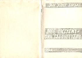 Lipski Dwie ojczyzny dwa patriotyzmy Uwagi o megalomanii narodowej i ksenofobii Polaków MKK 1983 k010559 Muzeum Wolnego Słowa www.m-ws.pl/muzeum/