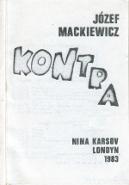 Mackiewicz Kontra Kraków Krakow X 1987 k004115 Muzeum Wolnego Słowa www.m-ws.pl/muzeum/