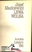 Mackiewicz Lewa wolna Kraków Krakow X 1984 FC AR 927