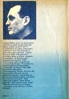 Miłosz Czesław Milosz Czeslaw Wiersze wybrane Wydanie drugie Warszawa PIW Państwowy Instytut Wydawniczy 1981 83-06-00650-X 830600650X