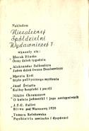 Watson George Czy intelektualiści dali się nabrać Warszawa Niezależna Spółdzielnia Wydawnicza 1 1981 Aneks 1978 19 Were the intellectuals duped Encounter 1973